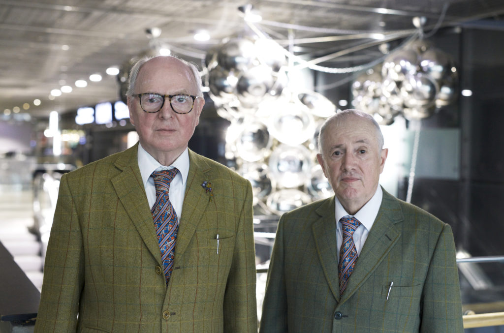 Gilbert and George © HAM / Adam Monaghan