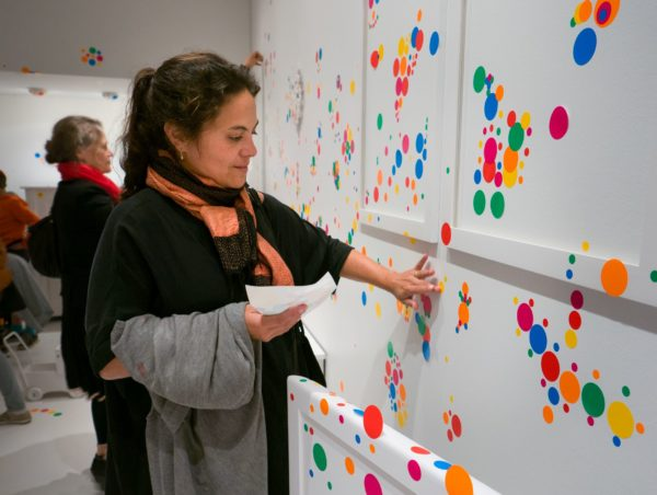 Yayoi Kusama: In Infinity, 2015 (Obliteration Room, Installation shot from Louisiana Museum of Modern Art). © Louisiana Museum of Modern Art, Humlebaek, DK. Photo: Kim Hansen